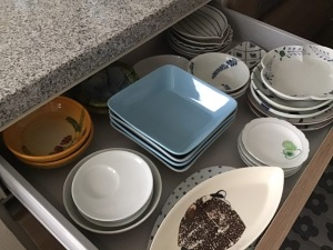キッチンの食器収納